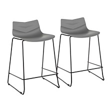 Lumisource Arrow Counter Stool Set of 2