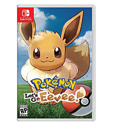 Nintendo Switch Pokemon: Lets Go Eevee