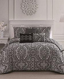 Kari 6-Pc Queen Comforter Set