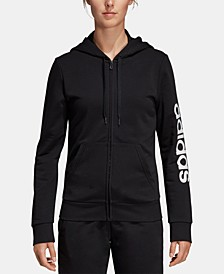 Women's Linear Logo Fleece Hoodie