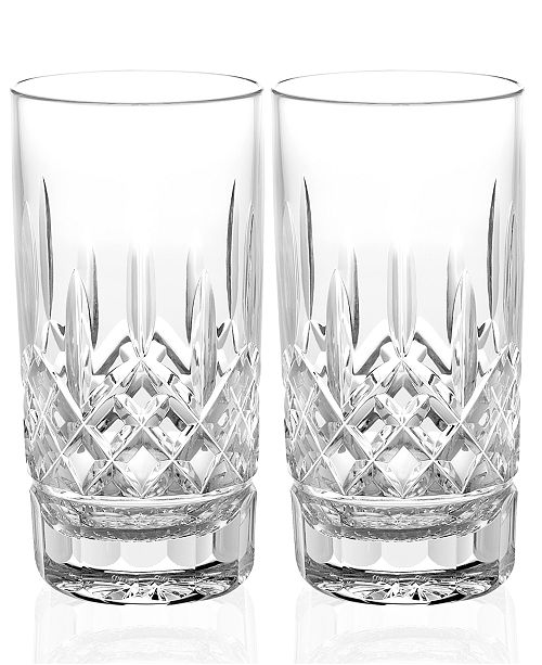 Waterford Barware Lismore Tumblers, Set of 2