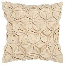 """18"""" x 18"""" Botanical Petals Pillow Cover"""