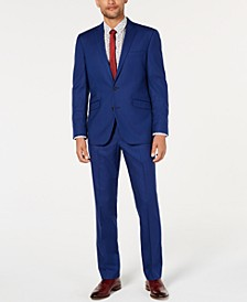 Unlisted Men's Solid Stretch Slim-Fit Suit
