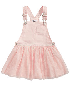 Epic Threads Toddler Girls Denim & Tulle Skirtall, Created for Macy's