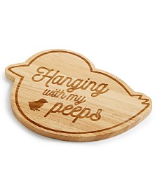 Martha Stewart Collection Peeps Wooden Trivet, Created for Macy's