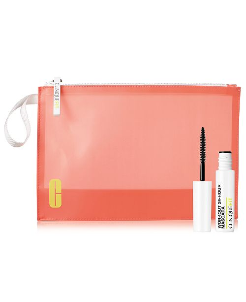 Clinique Complete your Clinique FIT gift! Receive a FREE Mascara and Clinique FIT cosmetics bag with $75 Clinique purchase!