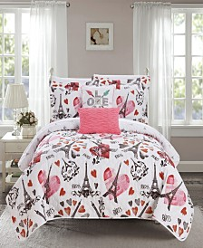 Chic Home Grand Palais 5-Pc. Quilt Sets