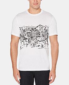 Perry Ellis Men's Ski Resort Graphic T-Shirt
