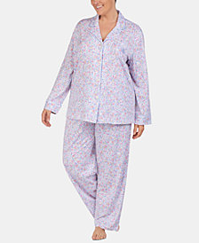 Lauren Ralph Lauren Plus Size Knit Pajama Set