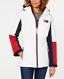 Tommy Hilfiger Colorblocked Anorak Jacket, Created for Macy's