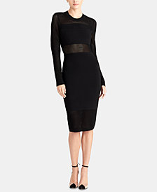 RACHEL Rachel Roy Tamara Mixed Stitch Sweater Dress