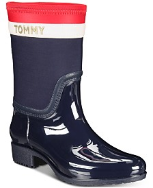 Tommy Hilfiger Float Rain Boots, Created for Macy's