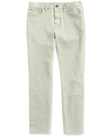Tommy Hilfiger Adaptive Men's Straight Pants with Magnetic Zipper