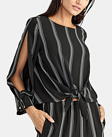 RACHEL Rachel Roy Rina Striped Top
