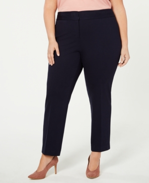 Vince Camuto Plus High-Rise Ankle Pants
