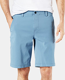 "Dockers Straight Fit Chino Smart 360 Flex 4-way Stretch 9.5"" Shorts D2"
