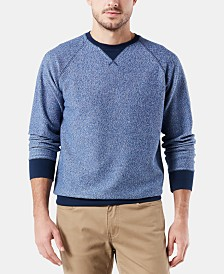 Dockers Men's Contrast Raglan Sweatshirt