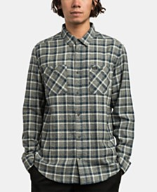 RVCA Men's Hero Plaid Shirt