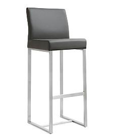 Denmark Grey Steel Barstool