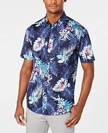 Men's Winslow Tropical Print Graphic Shirt, Created for Macy's