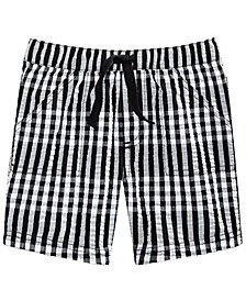 First Impressions Baby Boys Gingham-Print Shorts, Created for Macy's