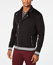 I.N.C. Men's Italy Biker Jacket, Created for Macy's