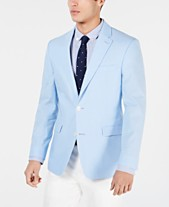 be4a882a7 Tommy Hilfiger Men s Modern-Fit Chambray Sport Coat
