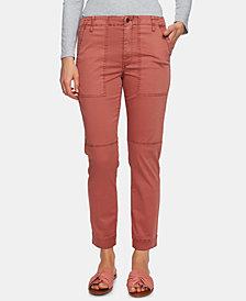 1.STATE Utility-Pocket Straight-Leg Pants