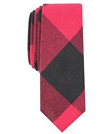 Original Penguin Men's Hedburg Check Skinny Tie