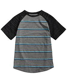 Big Boys Joseph Raglan Striped T-Shirt