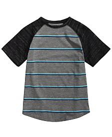 Univibe Big Boys Joseph Raglan Striped T-Shirt