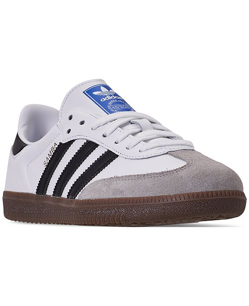 2aa1c6920 adidas Women s Originals Samba OG Casual Sneakers from Finish Line ...