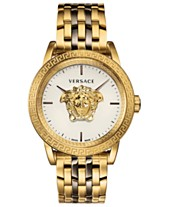 c3c9e4a20ab8d Versace Men s Swiss Palazzo Empire Two-Tone Stainless Steel Bracelet Watch  43mm