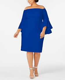7cb4e7edce7 Calvin Klein Plus Size Dresses  Shop Calvin Klein Plus Size Dresses ...