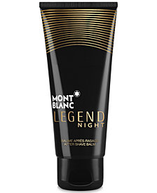 Montblanc Men's Legend Night After Shave Balm, 3.3-oz.