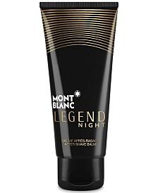 Montblanc Men's Legend Night After Shave Balm, 3.3-oz.