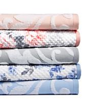 3fe67e29732 Martha Stewart Collection Textured Fashion Bath Towel Collection