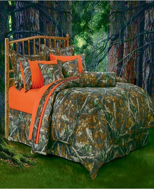 HiEnd Accents Oak Camo Comforter Set Collection