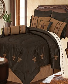 LaRedo Comforter Set, Super Queen Chocolate