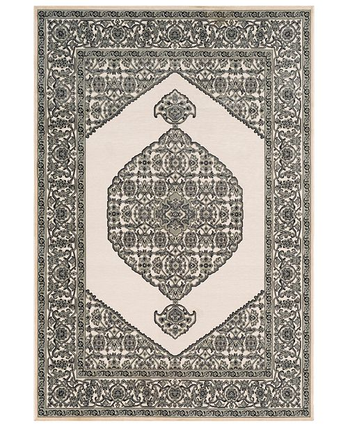 "Surya Aesop ASP-2318 Sea Foam 7'10"" x 10'4"" Area Rug"