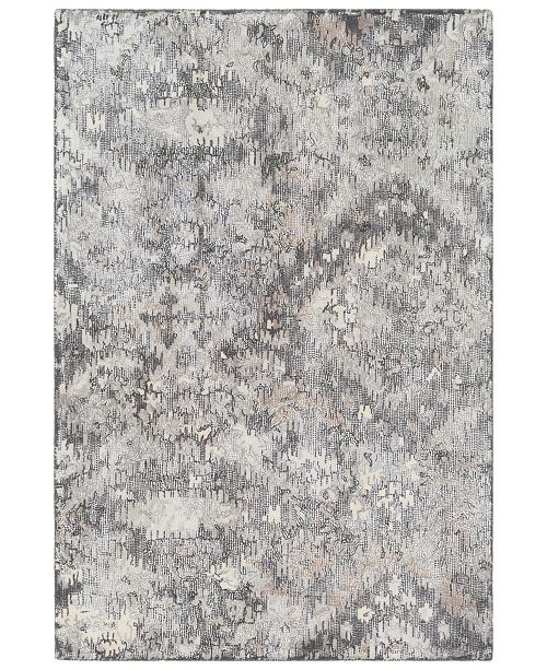 "Surya Antigua AGA-1010 Charcoal 5' x 7'6"" Area Rug"