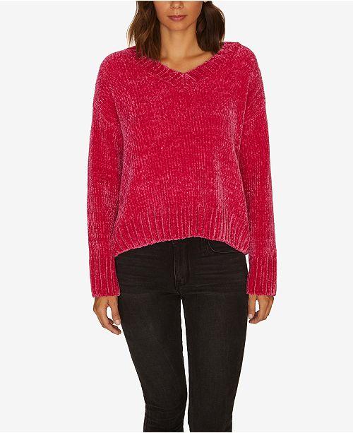5804f103292beb Sanctuary Chenille V-Neck Pullover Sweater, Created for Macy's ...