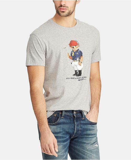 241cf70da529 Polo Ralph Lauren Men s Big   Tall Classic Fit Polo Bear Cotton T-Shirt