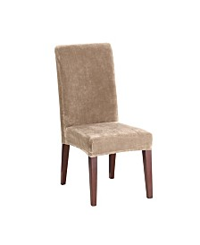 Sure Fit Stretch Plush Short Dining Chair Slipcover