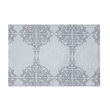 """Waterford Valentina Placemat Sky Blue 12"""" X 19"""""""