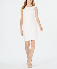 Calvin Klein Sunburst Sheath Dress