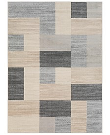 "Surya City CIT-2344 Light Gray 7'10"" x 10'3"" Area Rug"