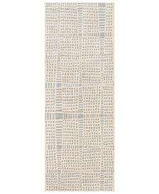 "Surya City CIT-2320 Light Gray 2'7"" x 7'3"" Runner Area Rug"