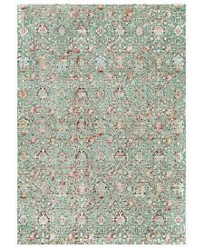 """Surya Herati HER-2319 Green 5'3"""" x 7'3"""" Area Rug"""