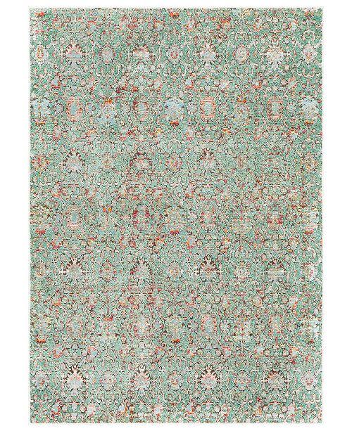 """Surya Herati HER-2319  Green 3'11"""" x 5'11"""" Area Rug"""